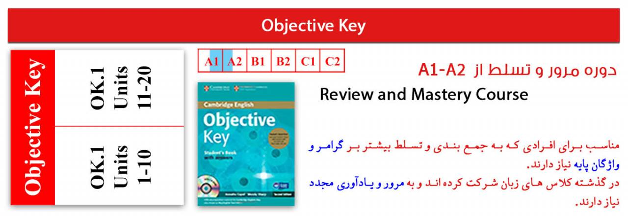 objective key-review and mastery course